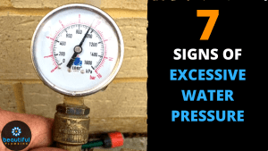 EXCESSIVE Water PRESSURE
