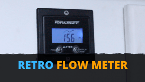 Retro Flow Meter