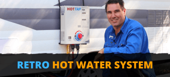 Portable hot water system