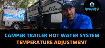 camper trailer hot water