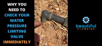 Water pressure limiting valve